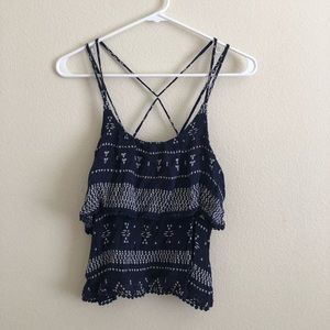 Forever 21 Strappy Top (Medium)
